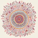 Sun Flower mandala