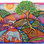 Earth, Tree and Animals