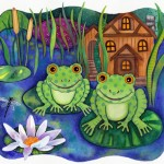 "Pair of Frogs for ""BBL"""
