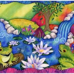 """Book Illustration for """"Sing Praise"""""""